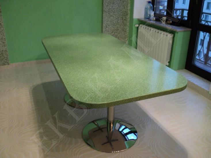 Столы из искусственного камня: кухонные, обеденные столы из .